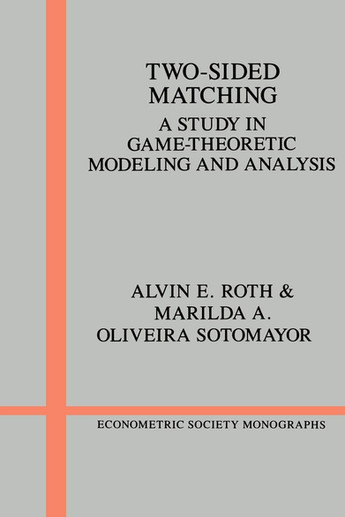 Roth, Sotomayor, Two-sided matching, Cam