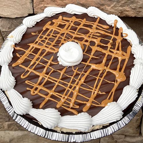 """9"""" PB Mousse Pie"""