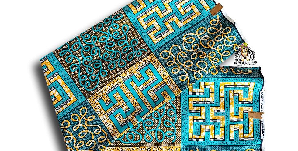 African Fabric Per 6 yards
