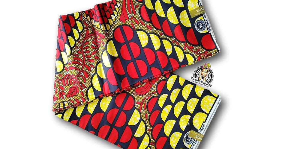 African fabrics per 6 yards
