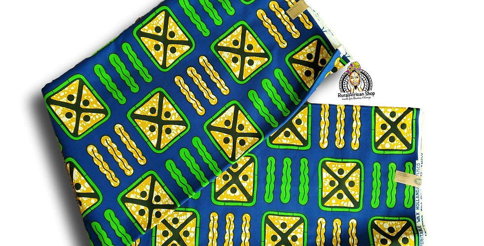 African Fabric Per 6 yards