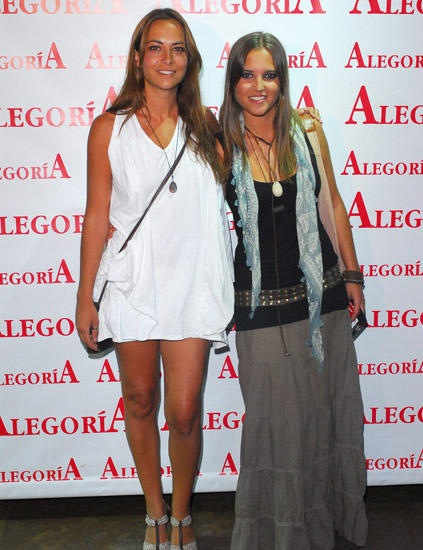 Sandra Collantes y Ana Fernández