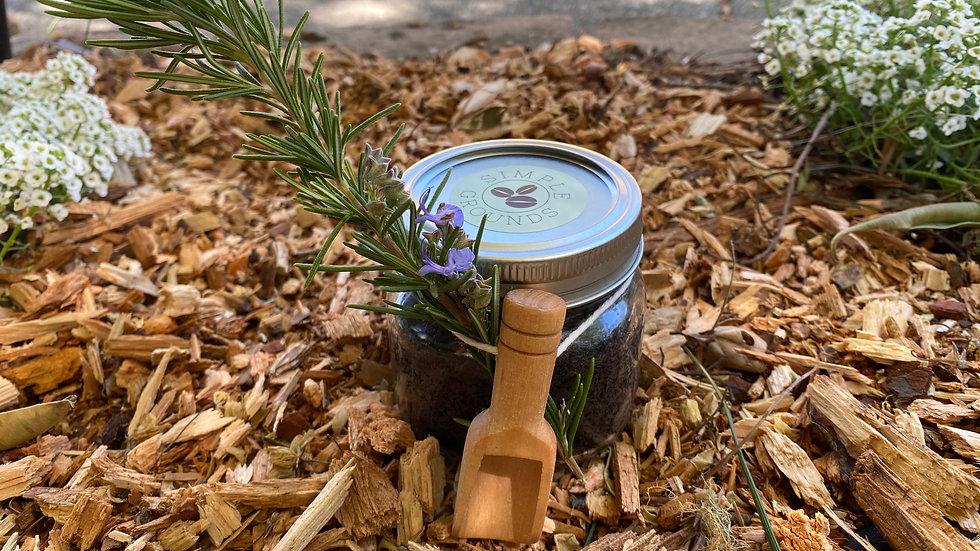 8 oz Lavender Scented Coffee Scrub