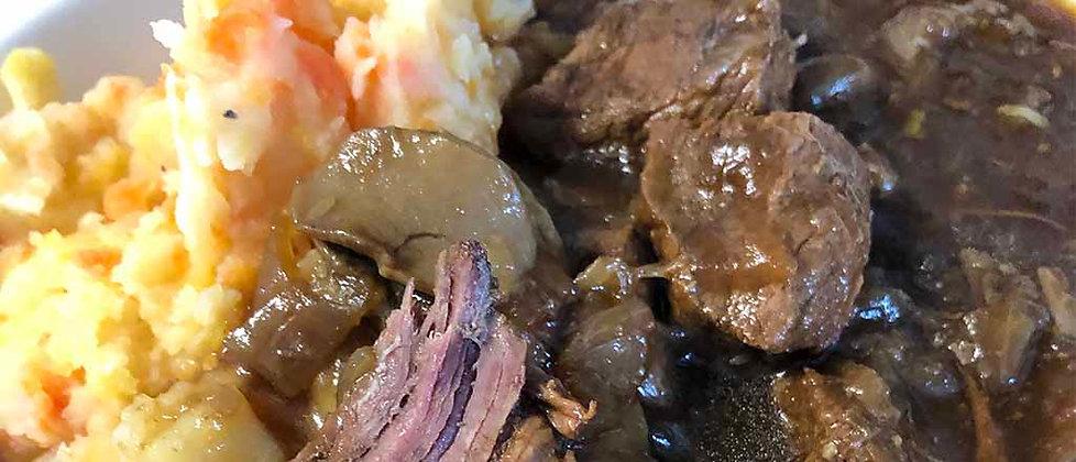 Roast Beef, Petite Pois & Gravy