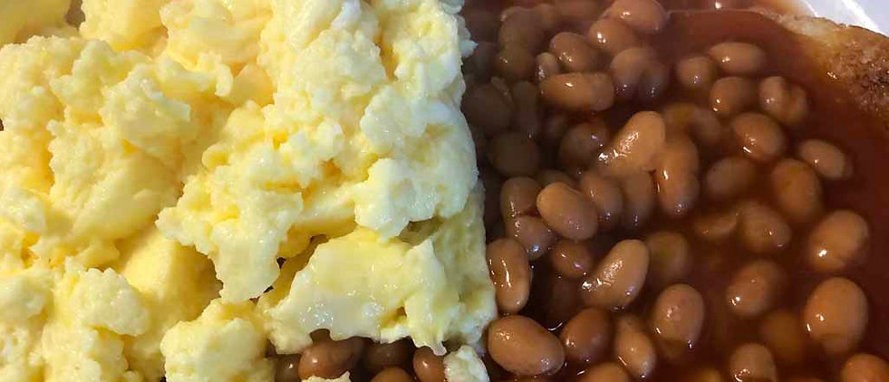 Eggs & Beans on Toast
