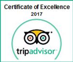 Trip Advisor Award 2017