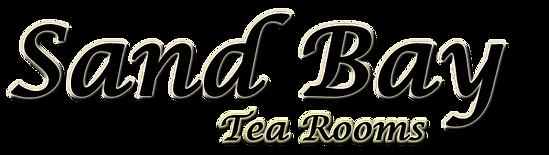 Sand Bay Tea Rooms title