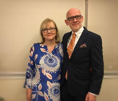 Phil Davies and Anne Acushla Hassett