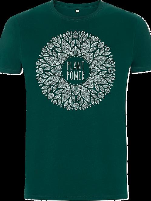 Unisex 'Plant Power' Organic Cotton Tee