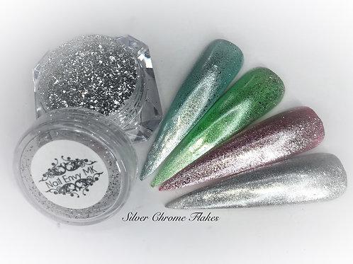 Silver Chrome Flakes