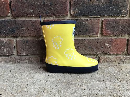 Grass & Air Yellow Colour Revealing Wellies