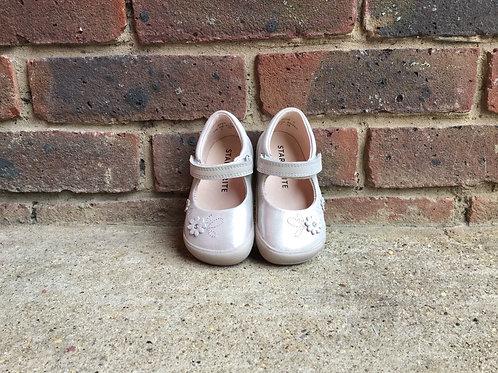 Startrite Flex Silver  Girls  First Walking Shoes