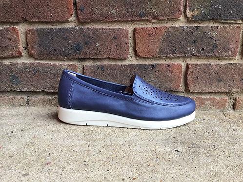 Caprice Blue Perlato Shoe