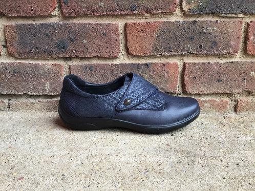 Padders Viola Navy Shoe