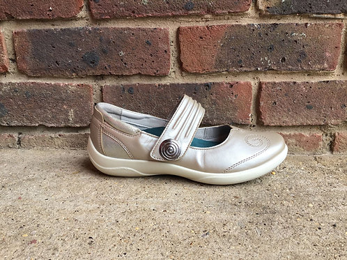 Padders Poem Metallic Combi Shoe
