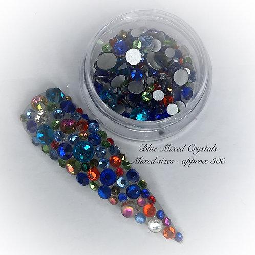 Blue Mixed Crystals