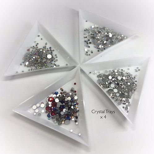 Crystal/Glitter Trays