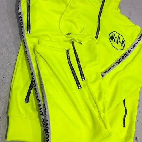 Neon Track Suit
