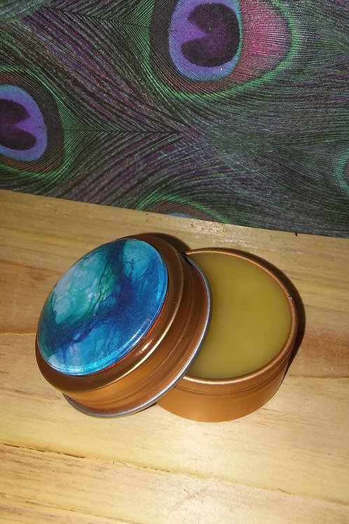 Tree Of Life Solid Perfume Tin