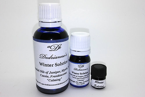 Winter Solstice Aromatherapy Oil