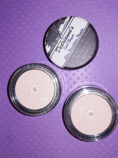 Cool Beige Glow Mica Foundation Powder