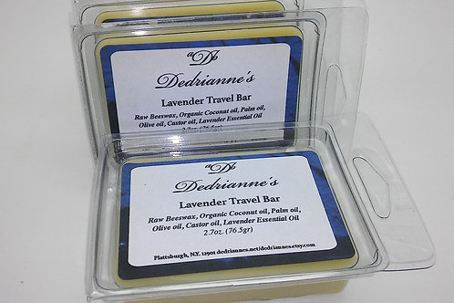 Lavender Travel Lotion Bar