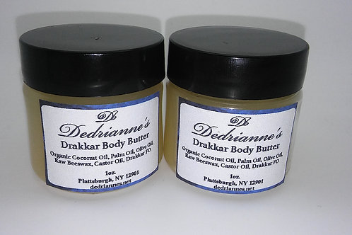 Drakkar Body Butter