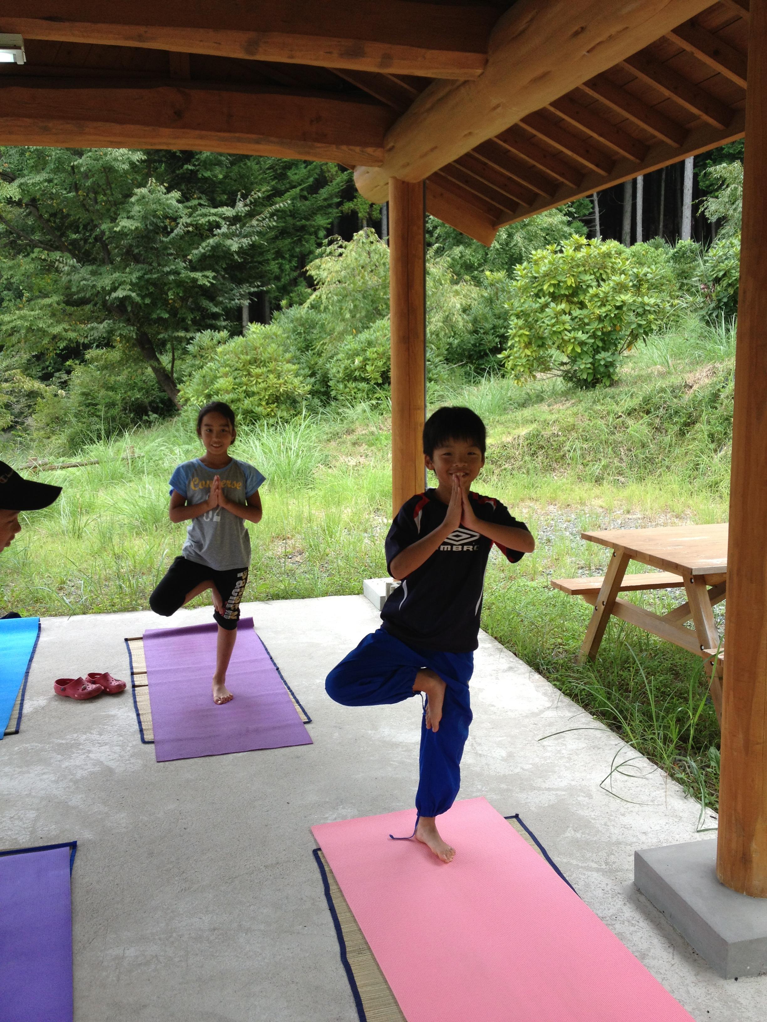 ヨガレッスンKid's Yoga