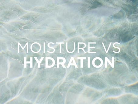 Moisture vs Hydration