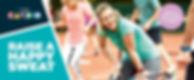 Enjoy a Free Trial - Raise Happy Sweat Cardio Tennis Image