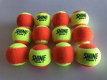 SHINE (STAGE 2) ORANGE & YELLOW TWO TONE Tennis Ball for Kids