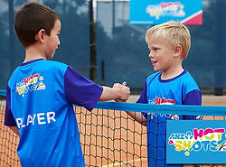 ANZ-Tennis-Hot-Shots 2 boys shaking hand