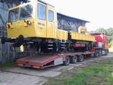 Transport drezyny WM-15A (wymiary ładunku: 12,45 x 2,80 x 3,36m waga: 25,5t)