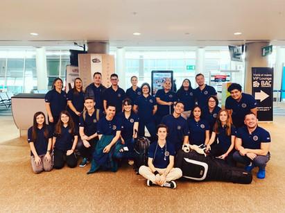 Delegación en el Aeropuerto