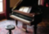 ilustración de un piano clásico