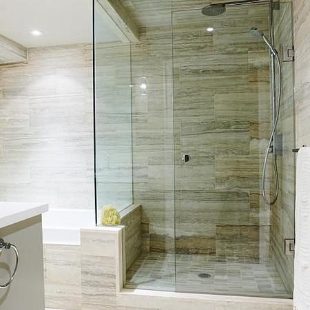 Vein Cut Stone Master Bath