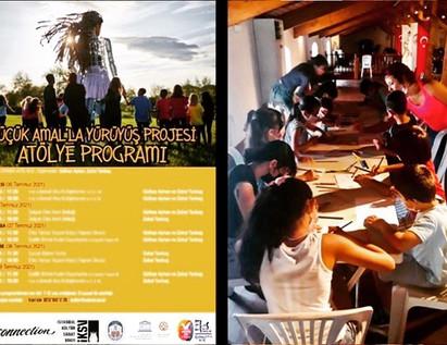 "Yaratıçı Drama Atölyesi : Göç, Ev tema üzere / Creative Dramatics Workshop on ""immigration"" & ""home"" themes"