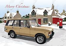 Range Rover Monteverdi Christmas Card.jp