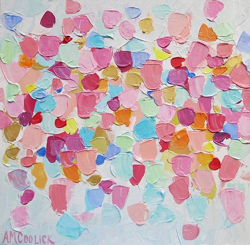 """Amoebic Confetti 2 16""""x16"""""""