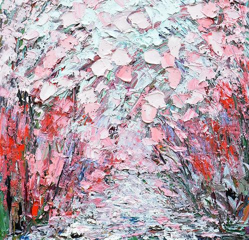 """Sakura Path 20""""x20"""""""