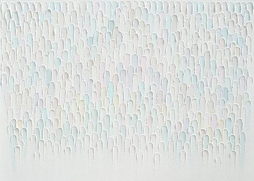 Monochrome Plumes 3, 30x40