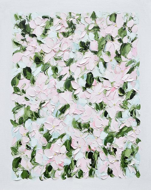"""Vintage Blooms 4, 30""""x24"""""""