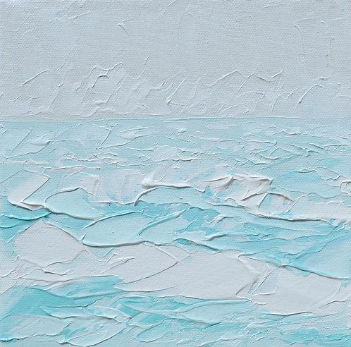 """Ocean Calm 1, 8""""x8"""""""