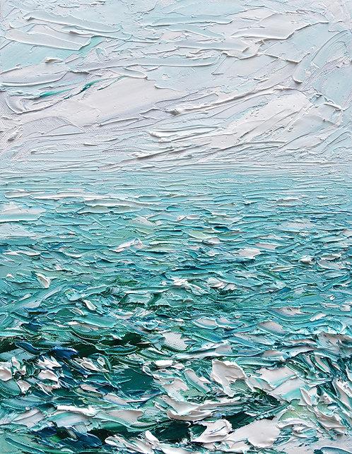 """Graceful Waters 14""""x11"""""""