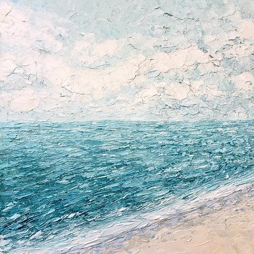 "Coastal Breeze, 20""x20"""