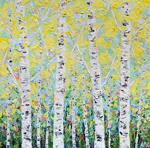 "New England Silver Birch 20""x20"""