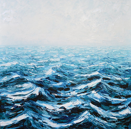 "High Seas, 30""x30"""