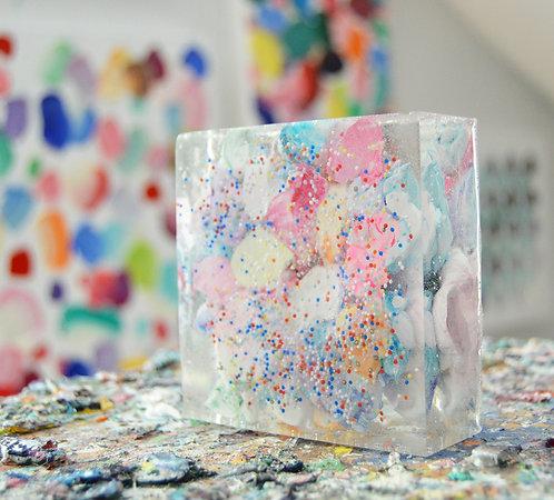 Sprinkled Paint Blockage
