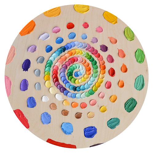 """Wheel Daubs, 26"""" diameter"""