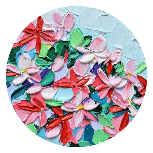 "Hesperantha Bouquet, 8"" diameter"